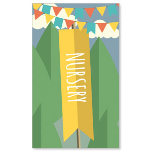 Woodland Friends Nursery Banners
