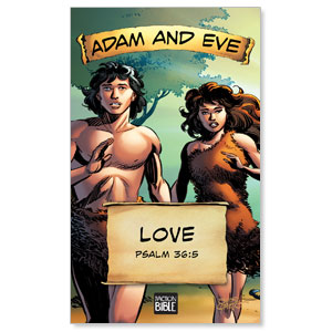 The Action Bible VBS Adam and Eve Banners