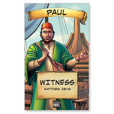 The Action Bible VBS Paul