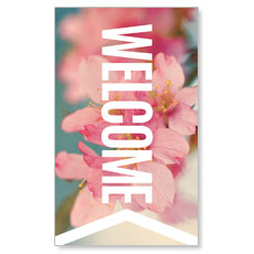 Chevron Welcome Spring