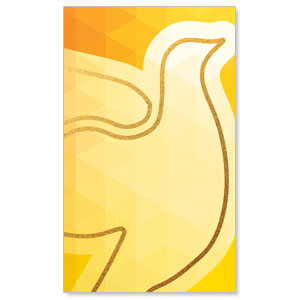 Bold Iconography Holy Spirit Dove 3 x 5 Vinyl Banner