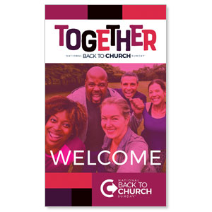 BTCS Together 3 x 5 Vinyl Banner