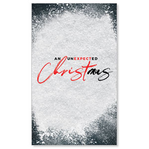 Unexpected Christmas 3 x 5 Vinyl Banner