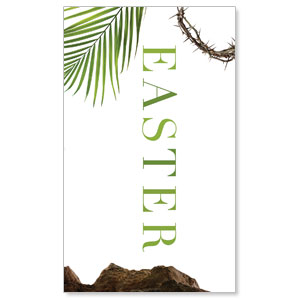 Easter Week Icons 3 x 5 Vinyl Banner