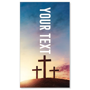 Easter Hope Outline Your Text 3 x 5 Vinyl Banner