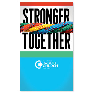BTCS Stronger Together 3 x 5 Vinyl Banner