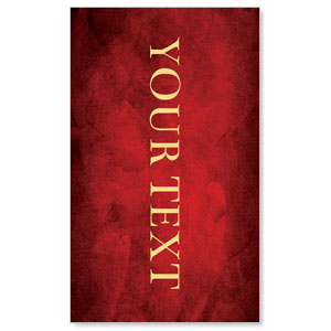 Hope Is Born Star Your Text 3 x 5 Vinyl Banner