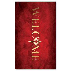Hope Is Born Star Welcome 3 x 5 Vinyl Banner