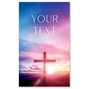 Love Easter Colors Your Text 3 x 5 Vinyl Banner