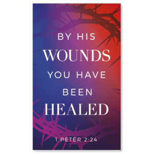 Celebrate Easter Crown Scripture 3 x 5 Vinyl Banner
