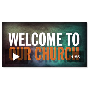 Welcome To Our Church video NO LOGO Video Downloads