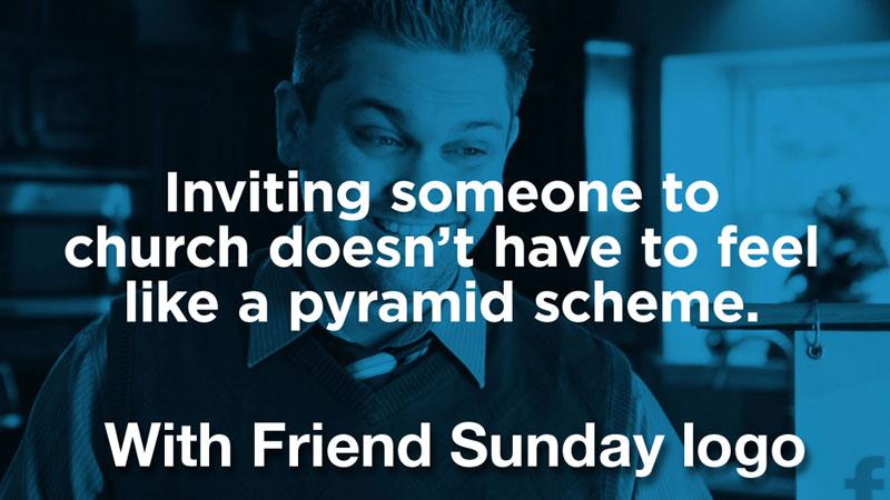 Just Ask - Pyramid Scheme Video Friend Sunday Logo