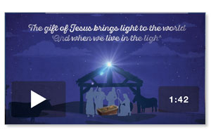 The Light of Christmas Welcome Video Downloads