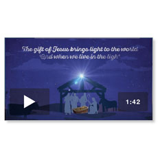 The Light of Christmas Welcome Video Download