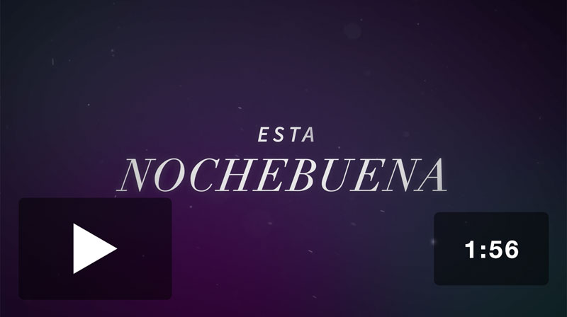Christmas Eve In Spanish.The Gifts Of Christmas Christmas Eve Invite Video Spanish