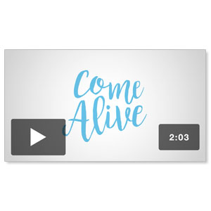 Come Alive Easter Sunday Invite Promo Video Downloads