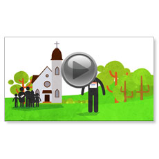 Our Church Welcomes You Custom Video