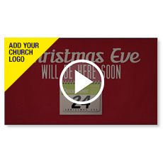 Christmas Invitations Custom Video