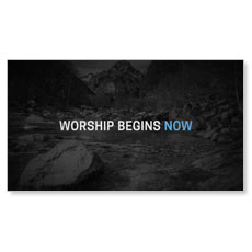 Now's the Time Motion Worship Video Custom Video