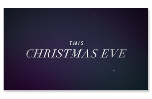 The Gifts of Christmas: Christmas Eve Invite Video Custom Videos