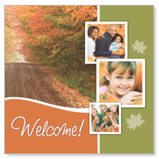 Fall Path Window Banner