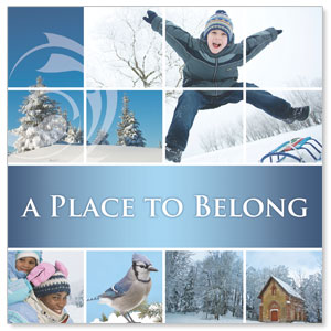 Belong Winter Window Banners