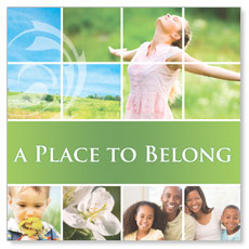 Belong Spring Window Banner