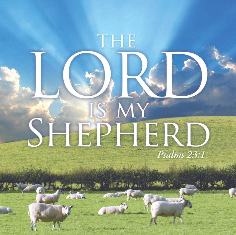Lord My Shepherd Banner Church Banners Outreach Marketing