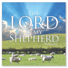 Lord My Shepherd Window Banner