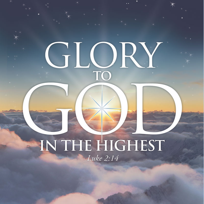 Glory To God Window Banner Outreach Marketing