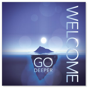Deeper Iceberg Welcome Window Banners