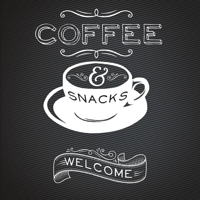 Chalk Coffee Banner Church Banners Outreach Marketing