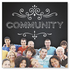 Chalk Community Window Banner