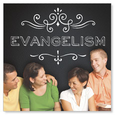 Chalk Evangelism Window Banner