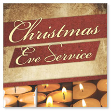 Christmas Eve Lights Window Banner