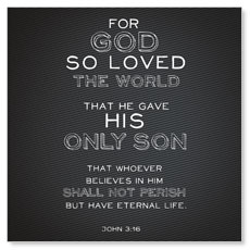 Chalk Jn 3:16 Window Banner