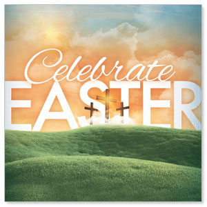 Easter Landscape Window Banners