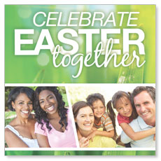 Easter Together Window Banner