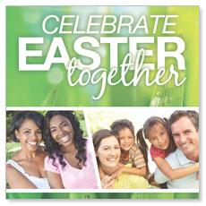 Easter Together Window Banner