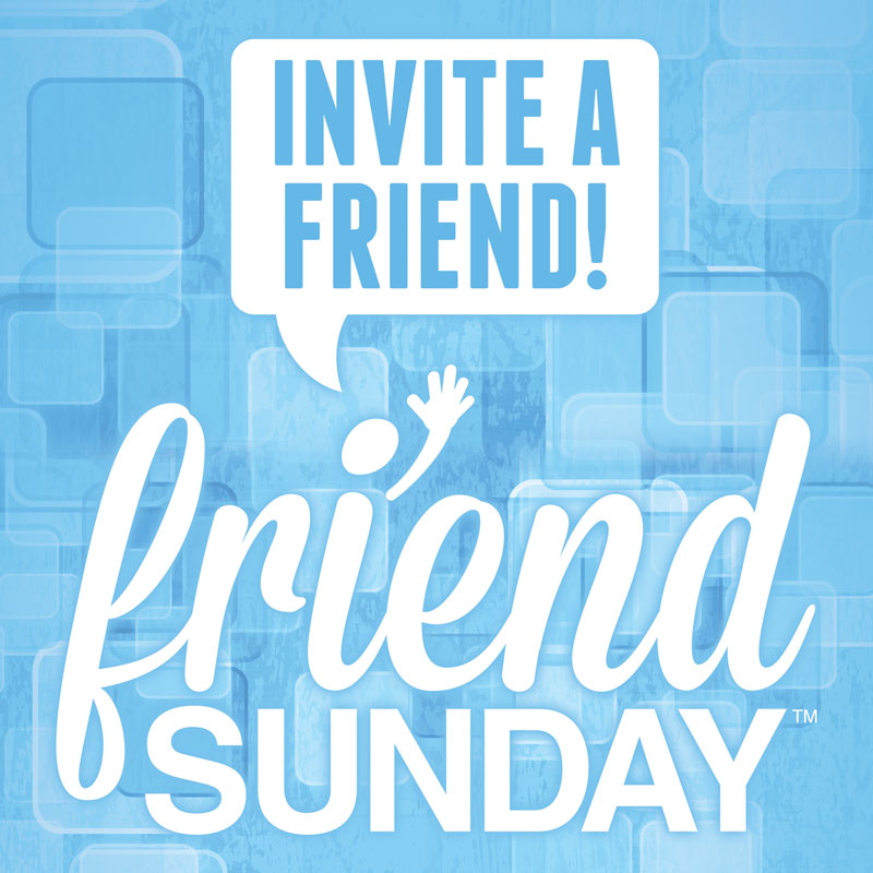 Friend Sunday Invite Window Banner - Outreach Marketing