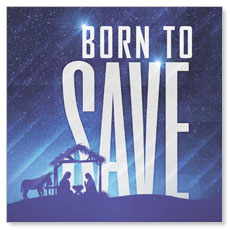 Born To Save Window Banner