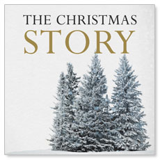 Christmas Story Trees Window Banner