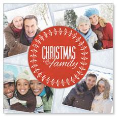 Christmas Family Window Banner