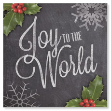 Chalk Joy Window Banner