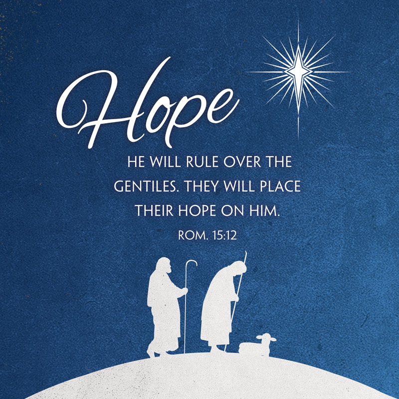 Advent Hope Banner Church Banners Outreach Marketing