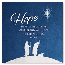 Advent Hope Window Banner
