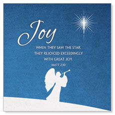 Advent Joy Window Banner