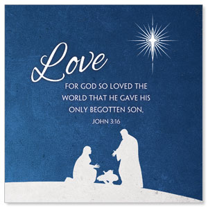 Advent Love Window Banners