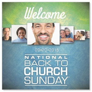 Back to Church Sunday 2015 Window Banners