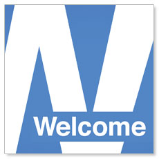 Metro Welcome Window Banner
